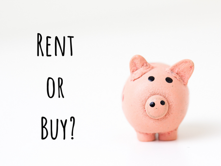 To Rent or Buy??