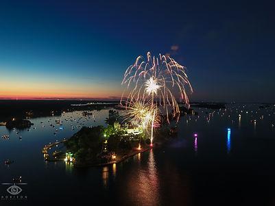 Boldt Castle Fireworks