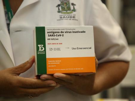 Osasco vacinará profissionais  de saúde nos dias 15 e 16 de abril