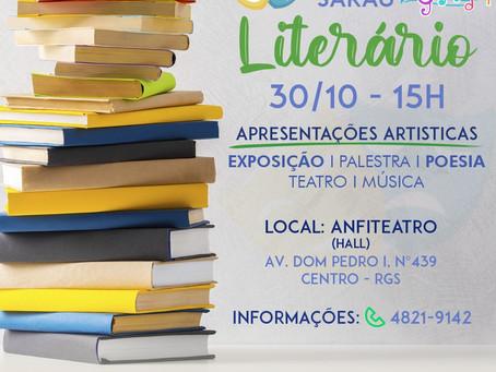 Rio Grande terá Sarau Literário no dia 30 de Outubro