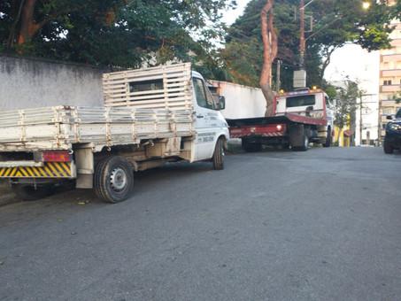 GCM apreende motos e recupera caminhão roubado