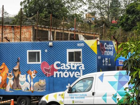 Castramóvel de Santo André retoma atividades