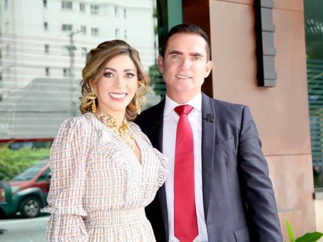 Contagem regressiva para o sucesso: Ricardo Bortoletto e Cleide Bortoletto levam amor e objetivo