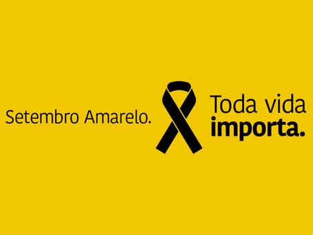 Setembro Amarelo, mês de prevenção ao suicídio