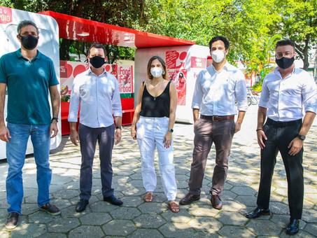 Prefeitura e IFood lançam espaço para entregadores em Osasco