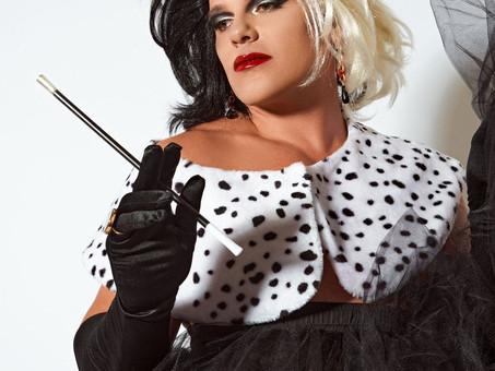 60 anos de Cruella: Apresentador do SBT se transforma em personagem durante ensaio de moda
