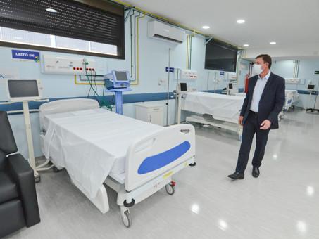 Com ampla estrutura hospitalar, São Bernardo tem a menor taxa de letalidade por Covid-19 da região