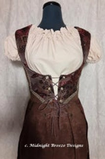 Steampunk Tailed Vest