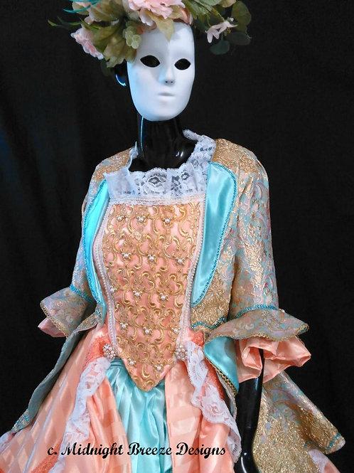 Masquerade Gown & Accessories