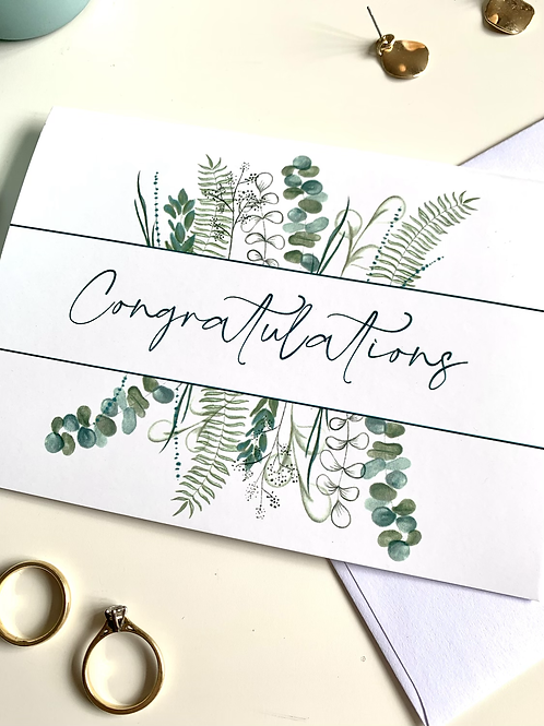 Congratulations Cards bundle of 5