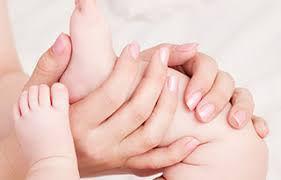 Réflexologie bébé affective