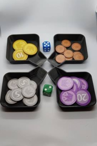 Tabletop Game Piece Organizer Set