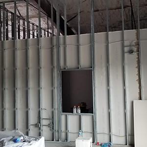 Front Door & Drywall Intallation