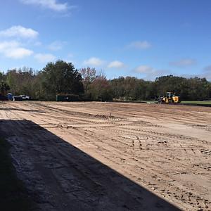 Site work still in progress