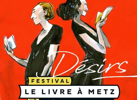 Festival du livre à Metz  du 5 au 7 avril 2019