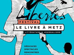 Le festival LIVRE A METZ
