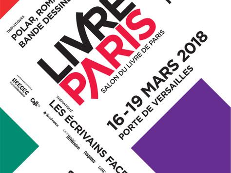 Je serai au SALON DU LIVRE DE PARIS !