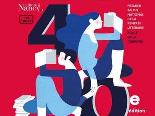 Le livre sur la Place, Nancy du 7 au 9 septembre 2018