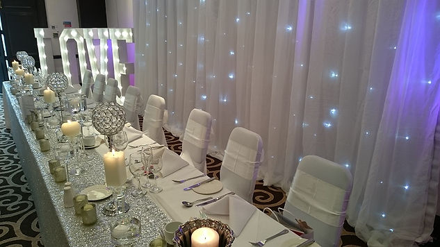 Wedding catering & room dressing in Manchster