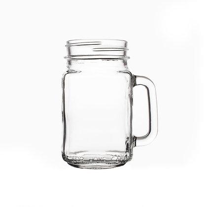 MASON JAR W/HANDLE