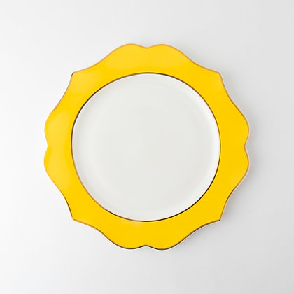 INCANTO DINING PLATE - YELLOW