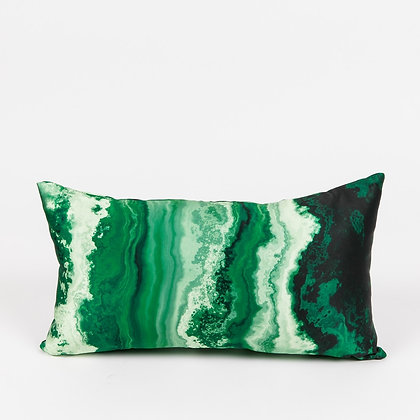 AGATE EMERALD ACCENT PILLOW