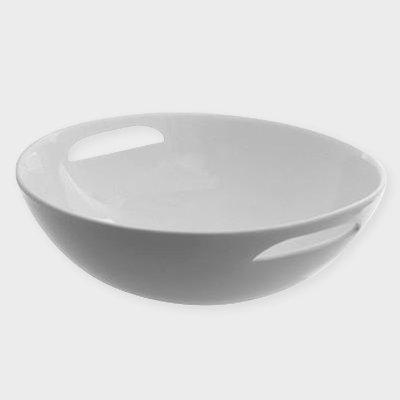 "16"" ROUND BOWL WITH HANDLES"