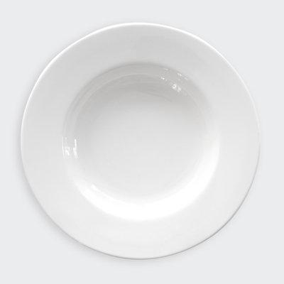 "CLASSIC WHITE 12"" SOUP/PASTA BOWL"
