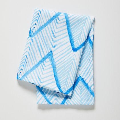 ZIG ZAG - SHIBORI BLUE