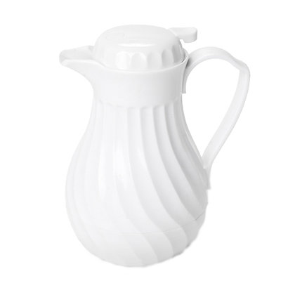 THERMAL COFFEE POURER - WHITE