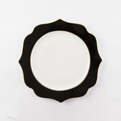 INCANTO DINING PLATE - BLACK