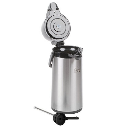 AIR POT STAINLESS STEEL W/LEVER - 2.5 LITER