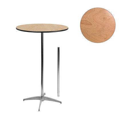 "30"" RD PEDESTAL TABLE"