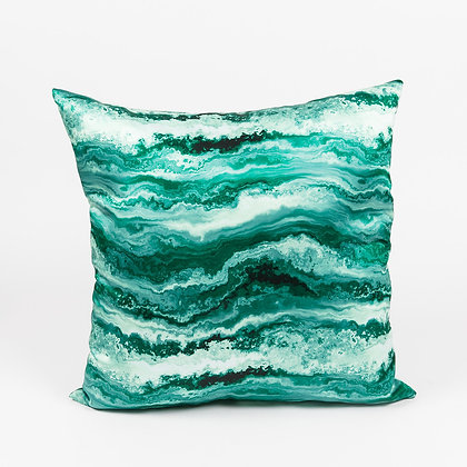 AGATE JADE ACCENT PILLOW
