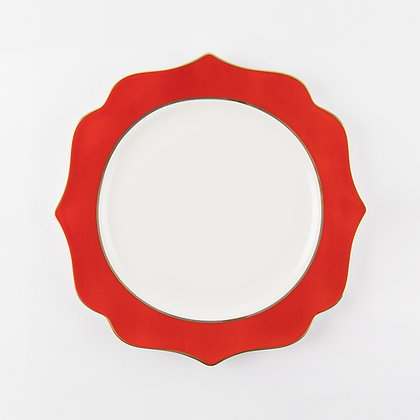 INCANTO DINING PLATE - RED