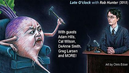 Late O'clock (LIVE) 2015 - Rob Hunter, Adam Hills, Cal Wilson, DeAnne Smith, Greg Larsen