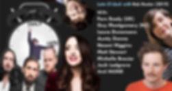 Late O'clock (Live) 2019 Rob Hunter, Aunty Donna, Fern BRady, Laura Dunmann, Guy Mongomery, Micelle Brasier, Matt Stewart, Josh Ladgrove