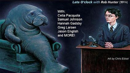 Late O'clock (LIVE) 2016 - Rob Hunter, Celia Pacquola, Samue Johnson, Hannah Gadsby, Greg Larsen, Jason English