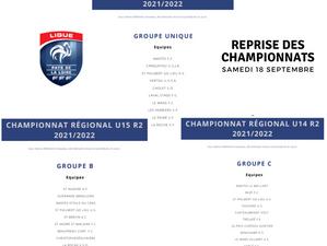 Championnats régionaux jeunes