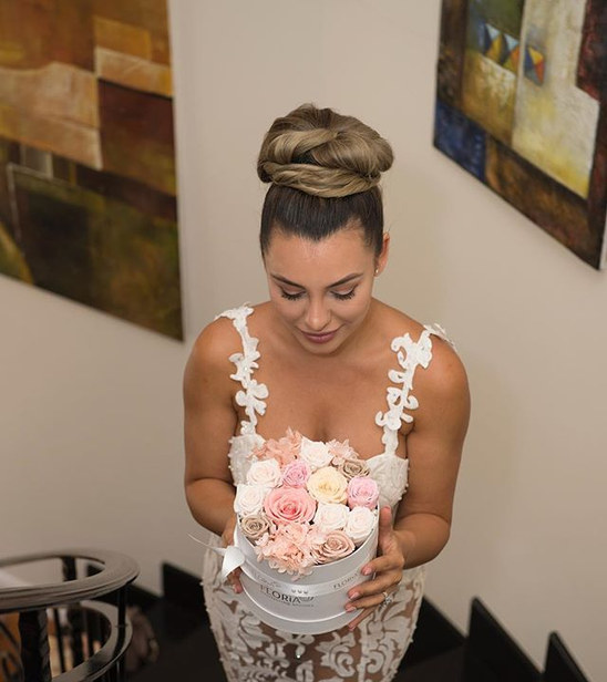 Shooting for Wedding&Bride Magazine with___mara_pomana __floria_everlasting_blooms