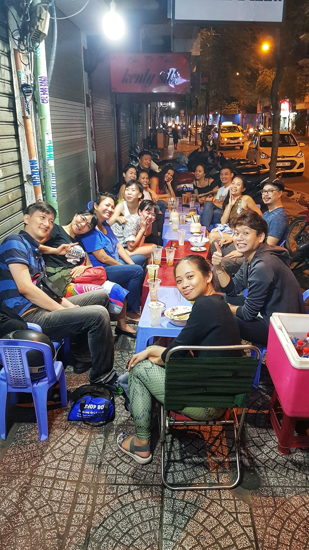 Ho Chi Minh City Saigon Ben Thanh Street Food Night Market