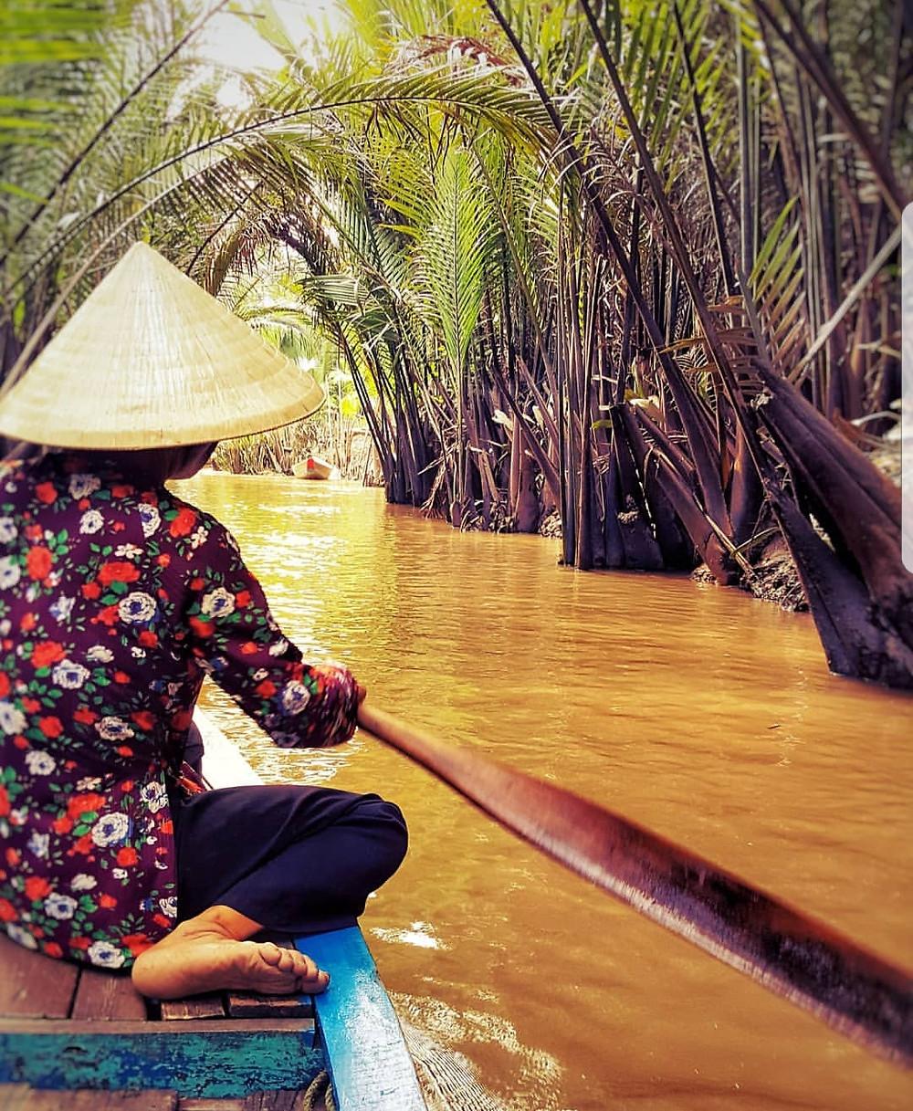 Boat Tour in the Mekong Delta, Vietnam