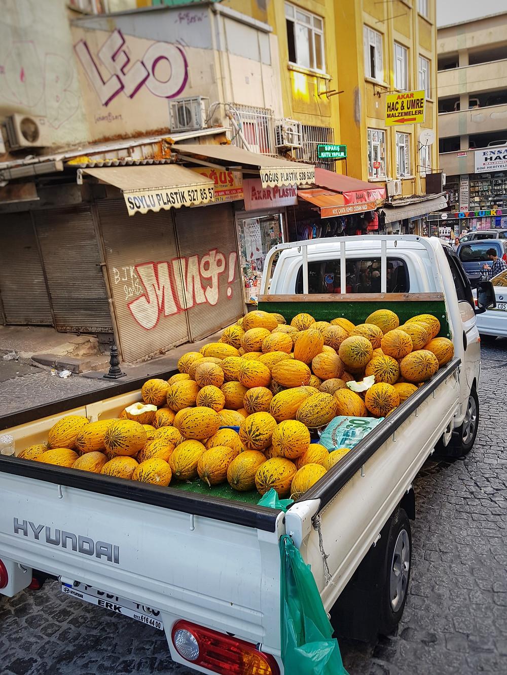Fruit Market Istanbul
