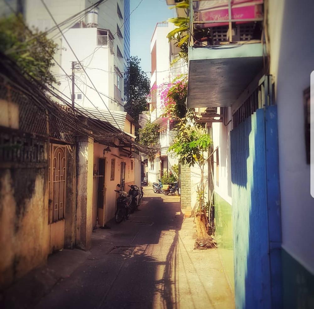 Aisles in Ho Chi Minh City / Saigon, Vietnam