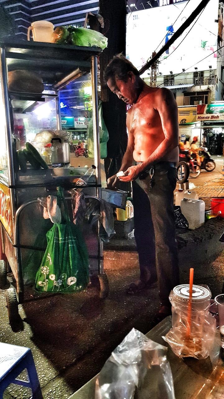 Street Food in Ho Chi Minh City, Vietnam.