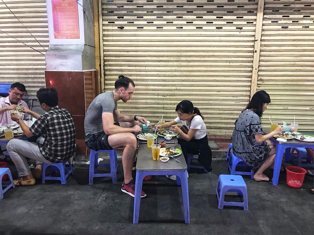 Street Food in Saigon Ho Chi Minh City, Vietnam