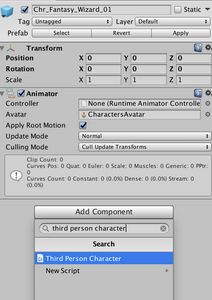Implementing an Animated Character in Unity