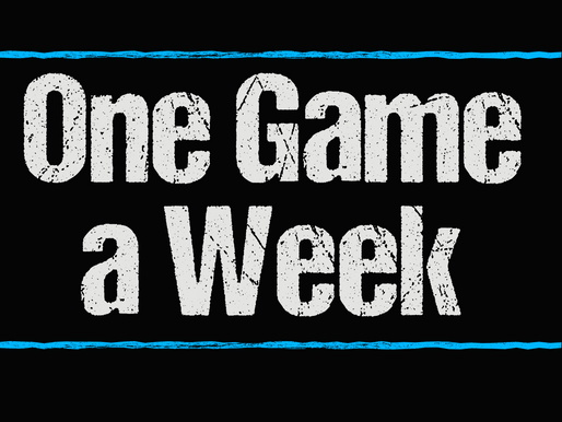 My Next Project: One Game a Week