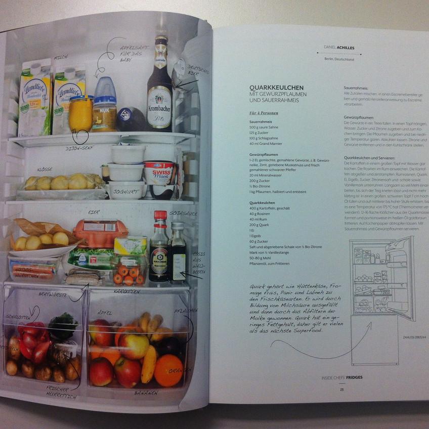 Der Kühlschrank des Berliner Kochs Daniel Achilles