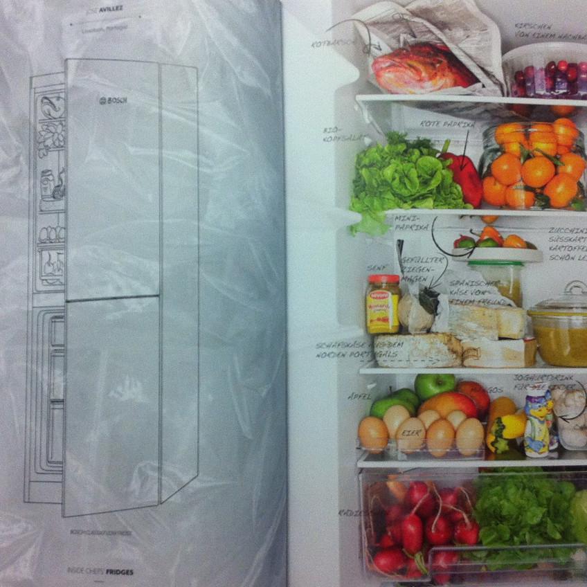 Der ordentlich eingeräumte Kühlschrank von José Avillez